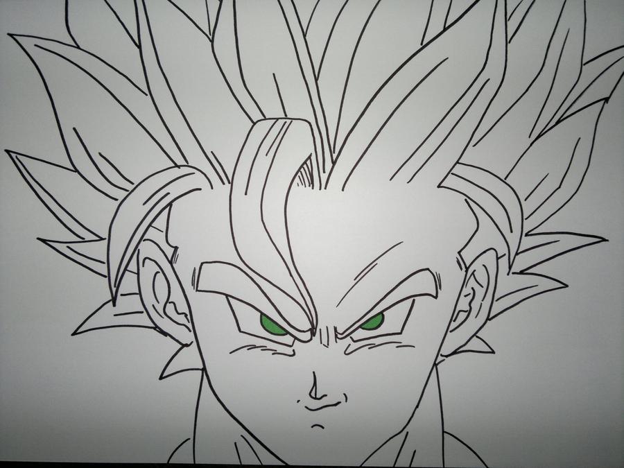Goku Super Saiyan 2 by supervegita on DeviantArt