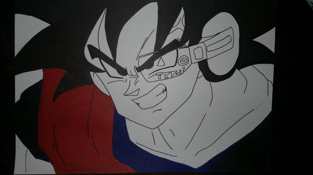 Ginyu Son Goku by supervegita