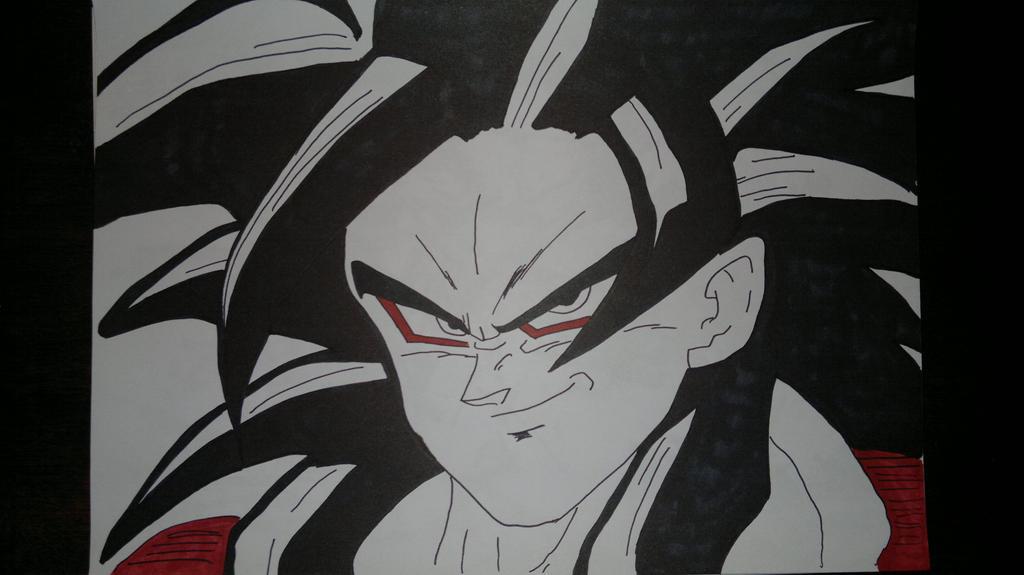 Goku Super Saiyan 4 by supervegita