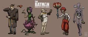 Batman Redesign by Imson