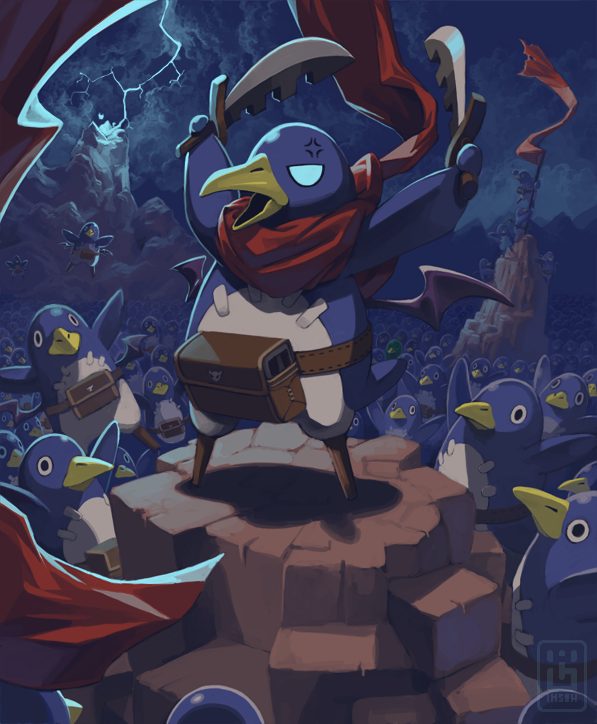 Prinny Multitude by Imson