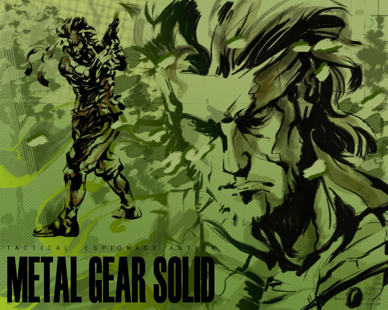 metal gear solid. wallpaperimson on deviantart