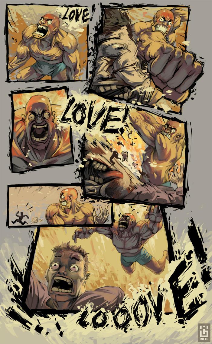 Love hurts by Imson