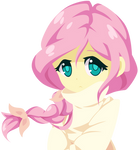 Vector Humanized Fluttershy