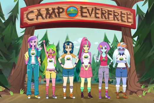 MLP: EQG - Crystal Prep at Camp Everfree