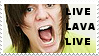 LiveLavaLive Stamp by love-is-here