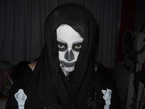 Skull Make up 03