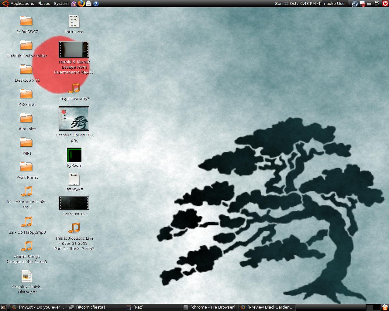 081012 October Ubuntu Screenie