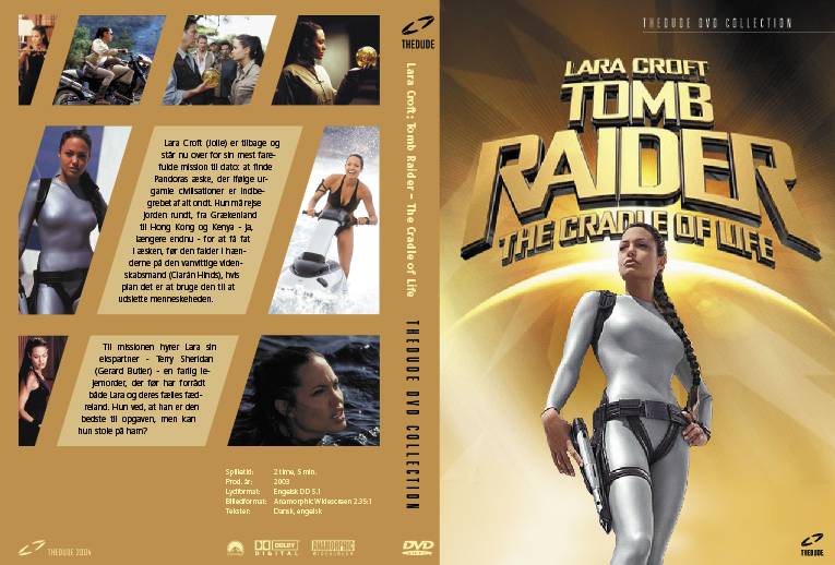 Tomb Raider 2 Dvd Cover By Helbo On Deviantart