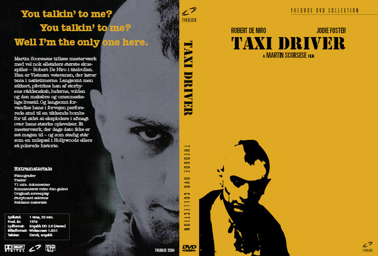 Taxi Driver DVD cover by helbo on