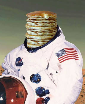 pancakes in space