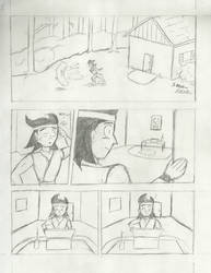 Geshi's First Heist (Page 1) by RobotHobo64