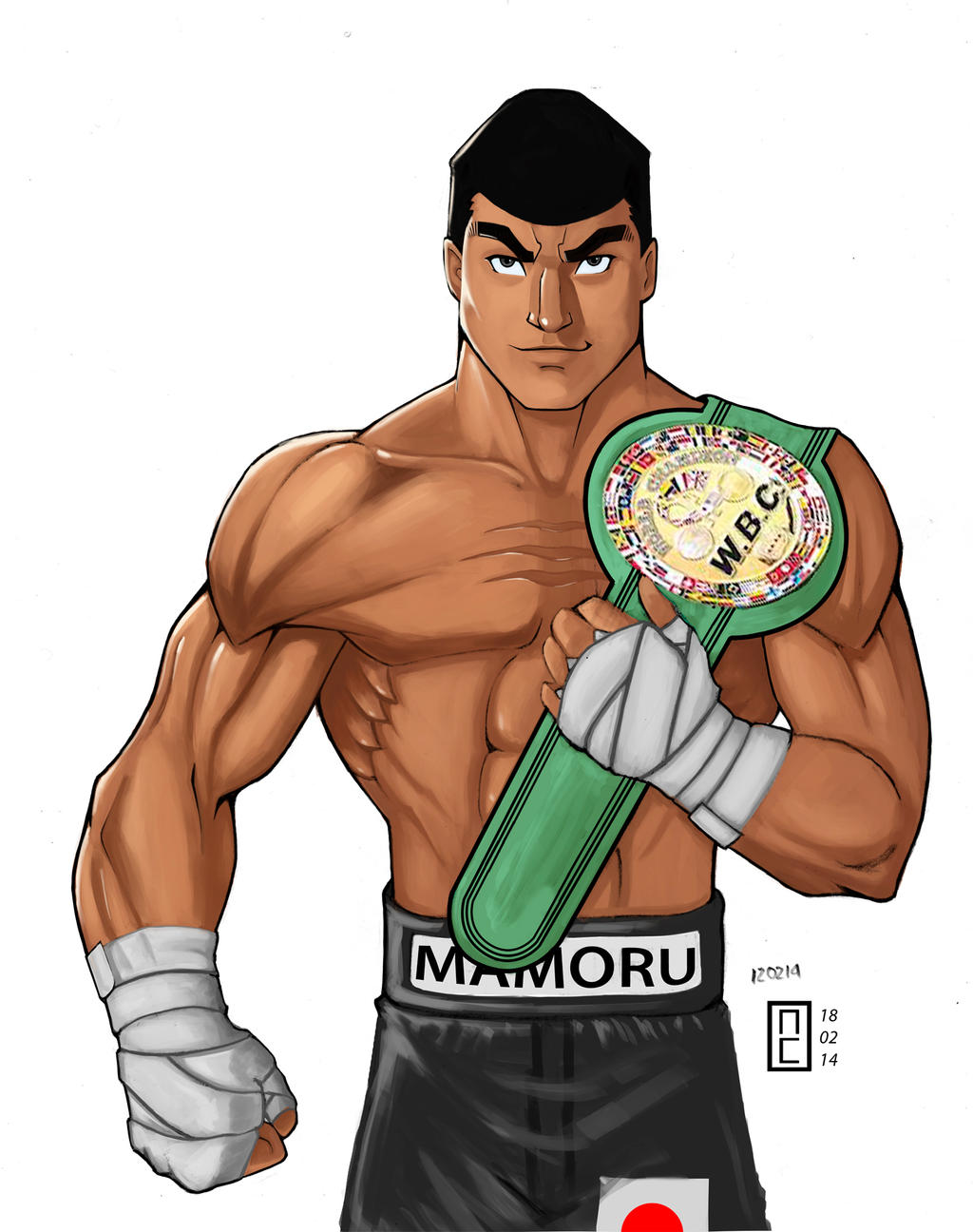Takamura Mamoru | Wiki Ippo | FANDOM powered by Wikia