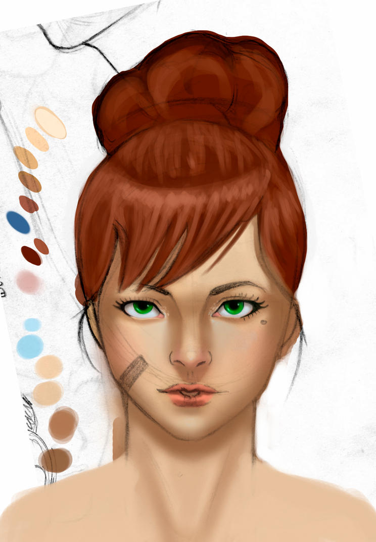 Skin study by OCaicedo