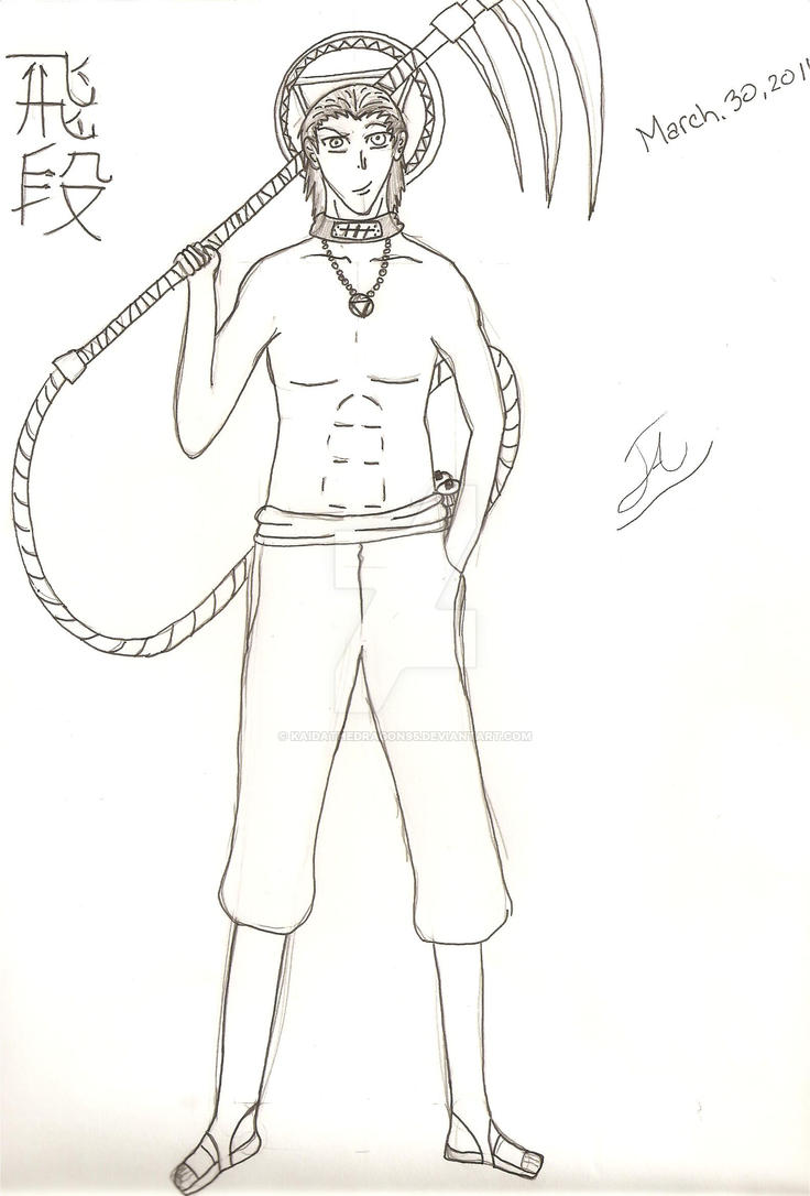 Naruto Shippuden Hidan Full Body By Kaidathedragon95 On Deviantart