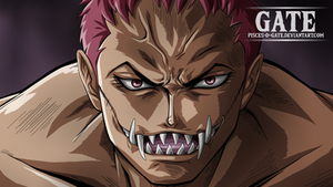 One Piece Scan 893 - Charlotte Katakuri Smile