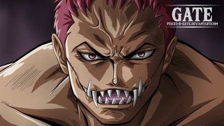 One Piece Scan 893 - Charlotte Katakuri Smile by Pisces-D-Gate