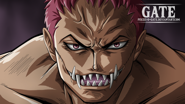 One Piece Scan 893 - Charlotte Katakuri Smile