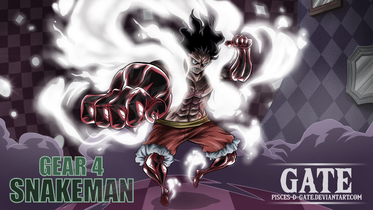 One Piece Scan 895 Luffy Gear 4 Snake Man By Pisces D