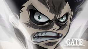 One Piece Scan 895 - Luffy Gear 4 (Snake Man Face)