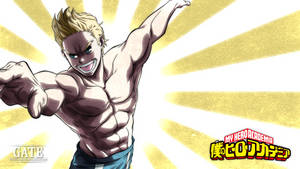 My Hero Academia - Lemillion (Mirio Togata) by Pisces-D-Gate