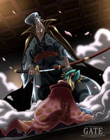 One Piece Chapter 933 - Kyoshiro and Komurasaki by Pisces-D-Gate
