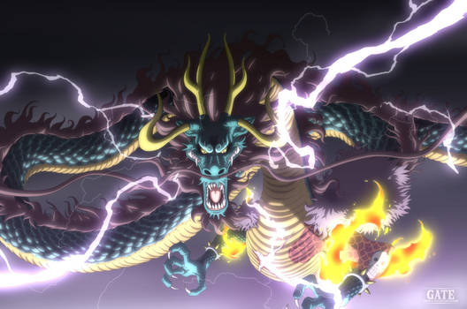 One Piece Chapter 921 - Kaido Dragon Form