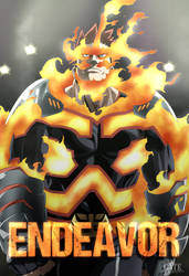 My Hero Academia Chapter 184 - Endeavor