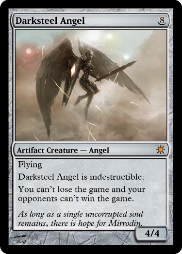 Darksteel Angel by JTMS