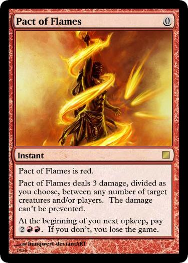 Pact of Flames by JTMS