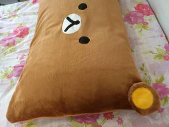Rilakkuma pillow 2 by Dryka01