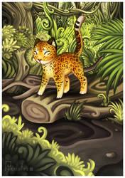 Lekan the Leopard by pixelatea