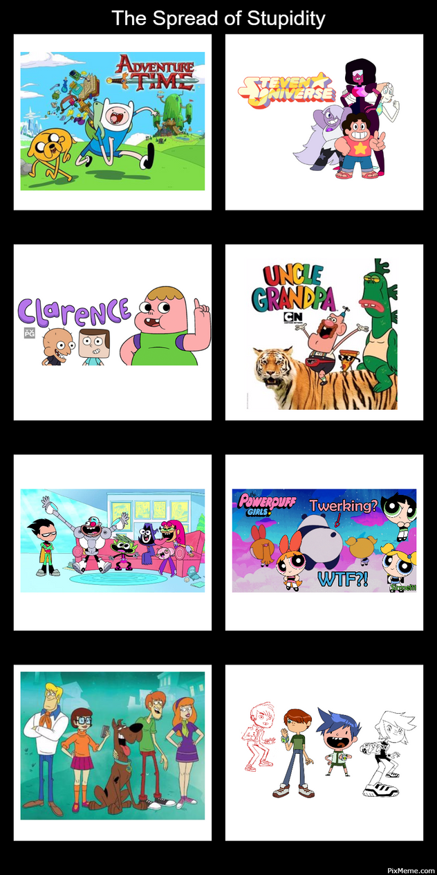 does cartoon suck now network Why