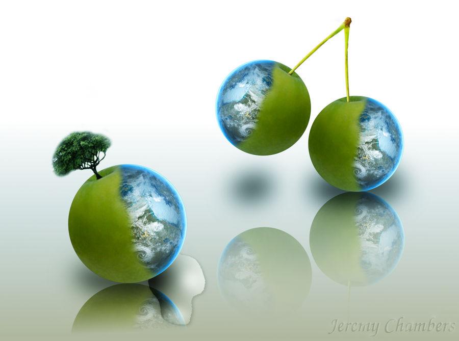 Planet Apple Cherry