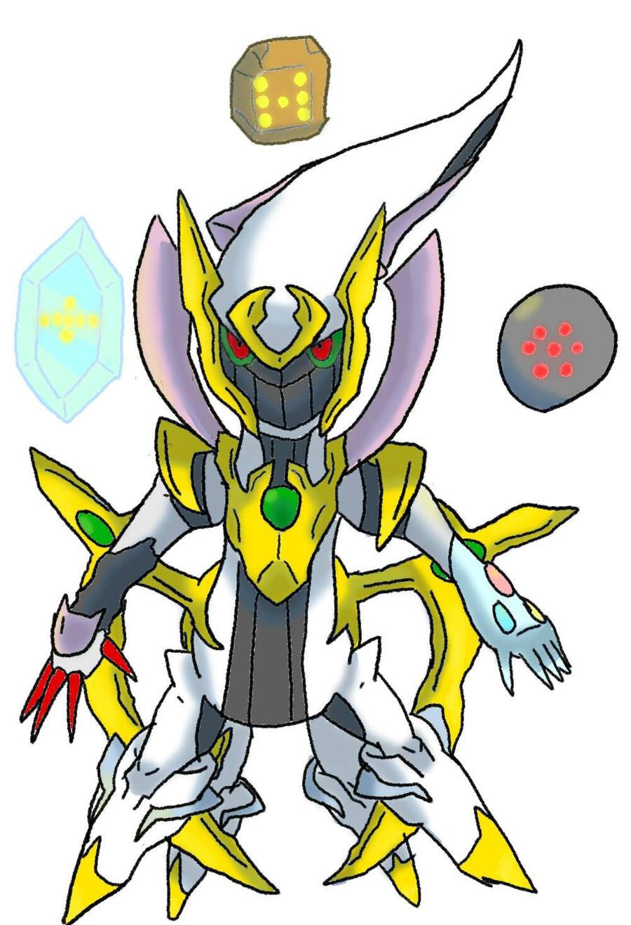 Pokemon Idea: Primal Arceus by Easonn on DeviantArt