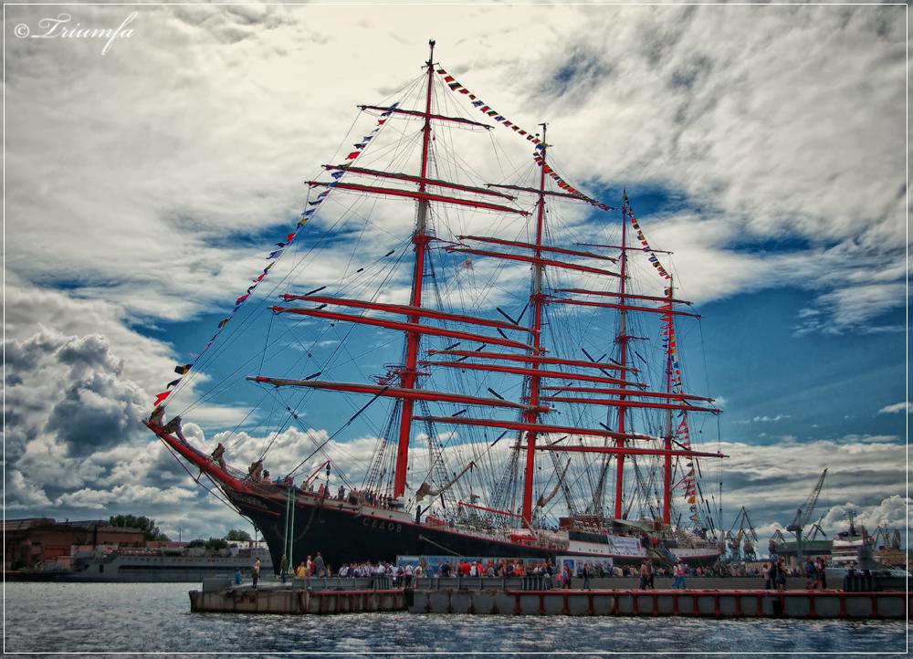 Sedov in St.Petersburg by Triumfa
