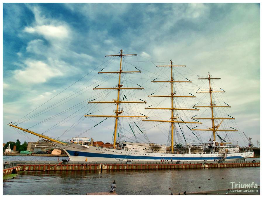 Sail training ship Mir by Triumfa