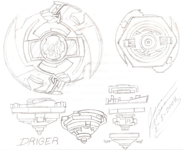 Beyblade driger by lacreoguarataro on deviantart - Beyblade driger wallpaper ...