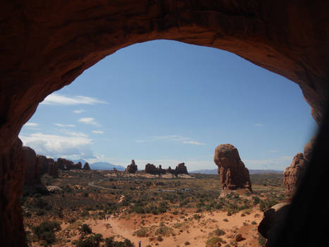 Vacation Pic: Arches - Window View