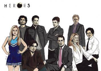 Heroes by inga-h