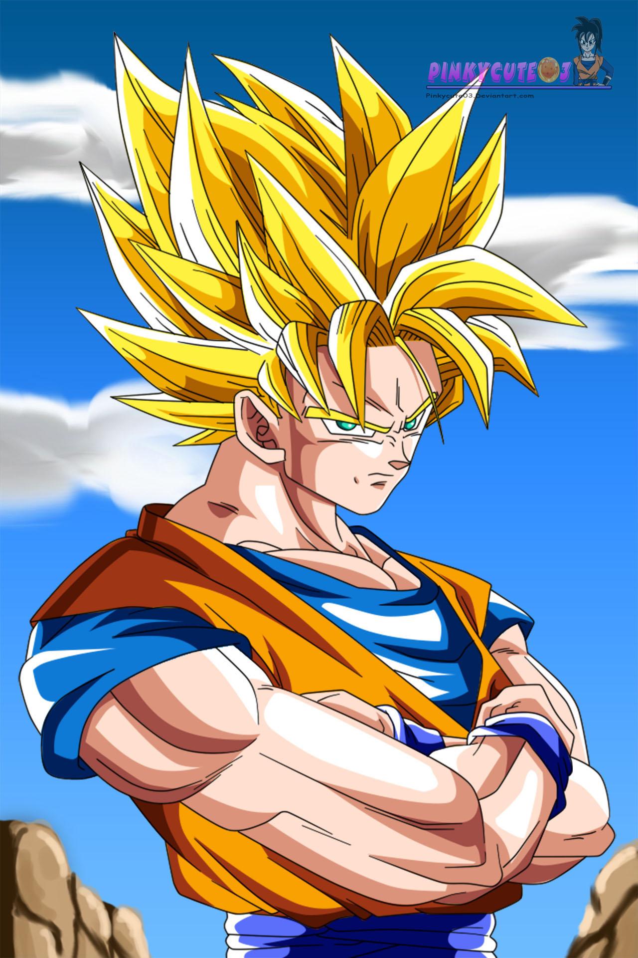 Super Saiyan 2 Son Goku By Pinkycute03 On Deviantart