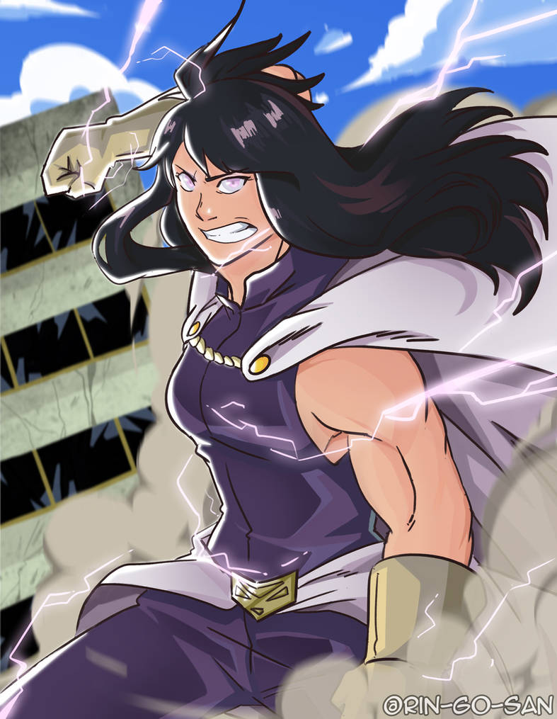 The 7th user of One for All, Nana Shimura