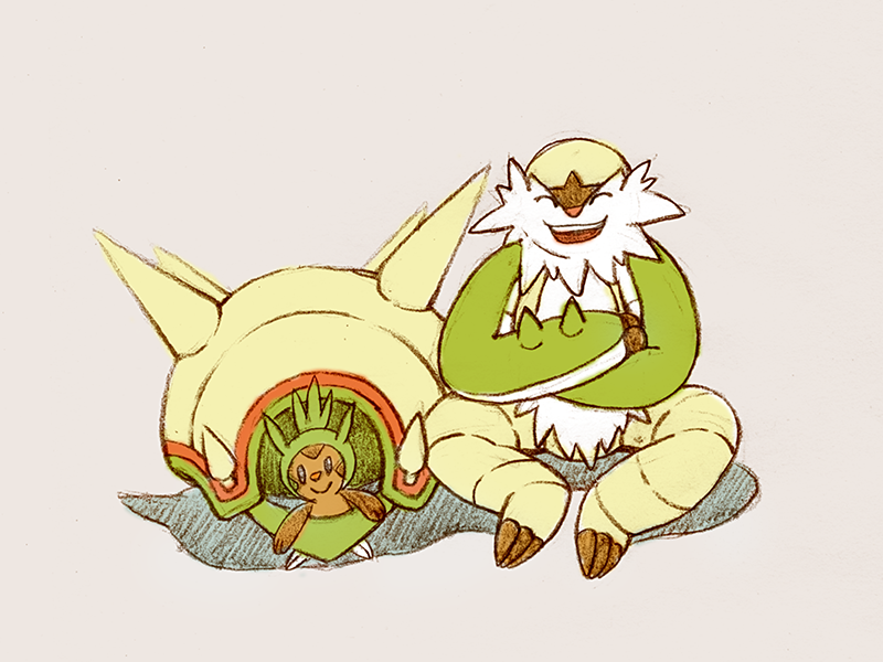 Chesnaught by shuleng