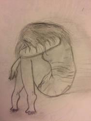 Alone in thoughts by ShirukuPantsu