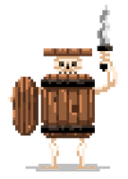 Barrel Skeleton by Olsonmabob