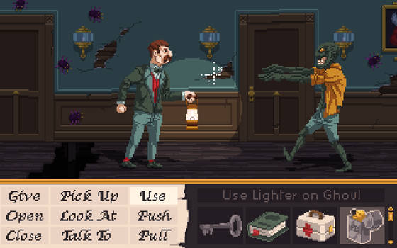 Alone in the Dark: A Point and Click Adventure