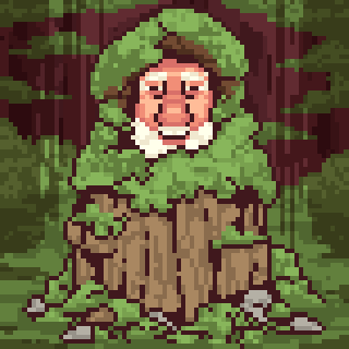 Mick Dodge: The Man Who Lives in a Stump by Olsonmabob