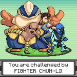 Pokemon Trainer: Chun-Li