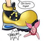 Poor Piglet