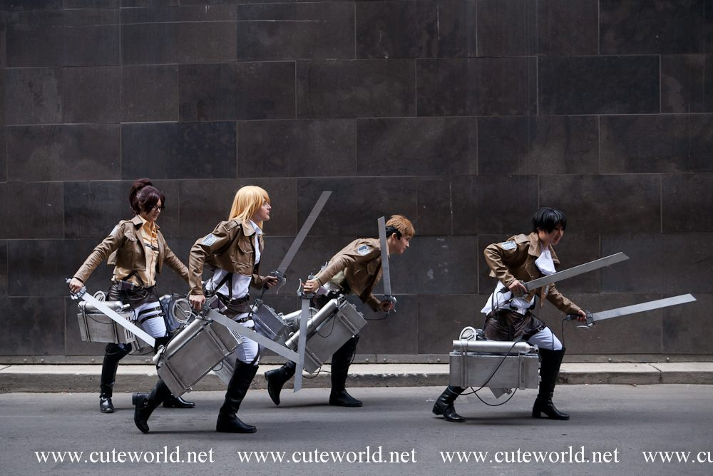 Attack on Titans - Run! by Ryukai-MJ
